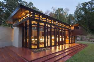 Frank Lloyd Wright Inspired House Plans Architecture Crystal Bridges Museum Of American Art