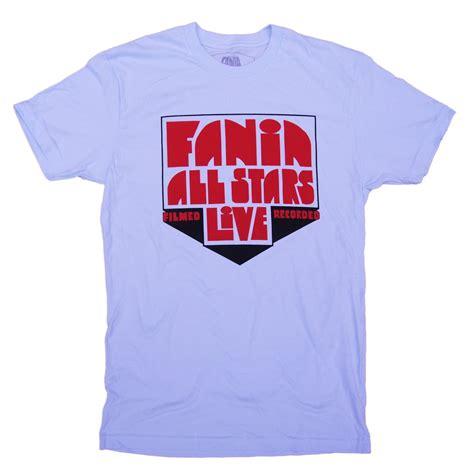 T Shirt Fania fania all logo t shirt s light blue fania