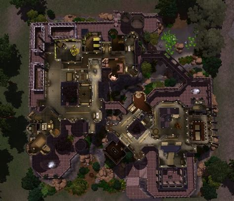 Floor Plans With Basement by Mod The Sims Hogwarts Of Witchcraft And Wizardry