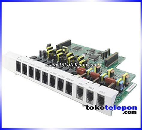 Pabx Panasonik Kx Te Seris jual panasonic pabx kx te82483 expand card 3 lines 8 exts