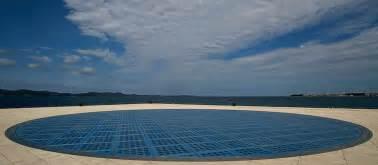 Coast Lighting Travel Shot Sun Salutation In Zadar Croatia Travel