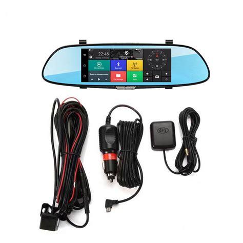 camara video android 7 inch car rear view mirror dash camera hd 1080p android
