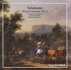 Telenan Transparan telemann wind concertos vol 2 cpo 7772672 bw classical