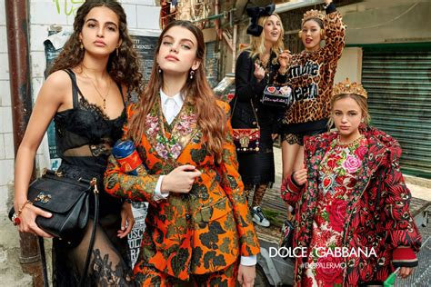 Dolce By Dolcegabbana For dolce gabbana fall 2017 ad caign les fa 199 ons