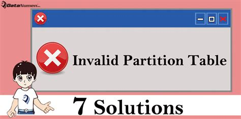 Invalid Partition Table Windows 7 by 7 Solutions To Quot Invalid Partition Table Quot Error On Windows