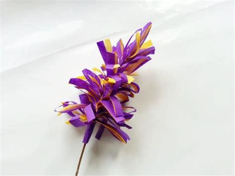 membuat bunga dari kertas biasa cara membuat bunga dari kertas tisu dan origami mudah