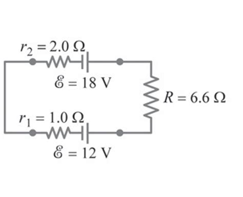 capacitor in series mastering physics determine the terminal voltage of bottom battery 2 chegg