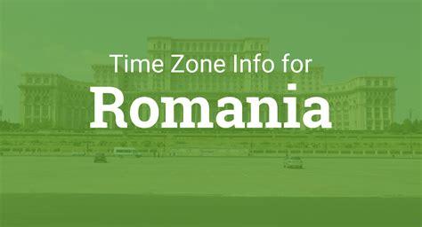 time zones  romania