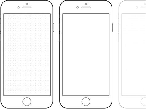 Iphone X Coloring Page by Iphone 6 Drawing Template Paternoster