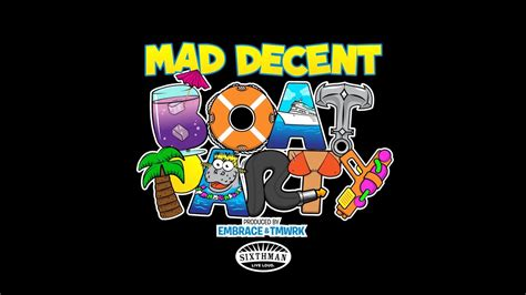 mad decent boat party the mad decent boat party 2014 promo youtube