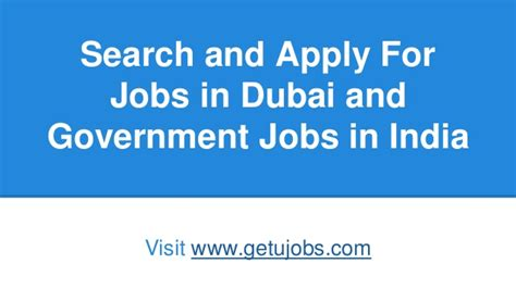 Search In Dubai Getujobs Search And Apply For In Dubai And