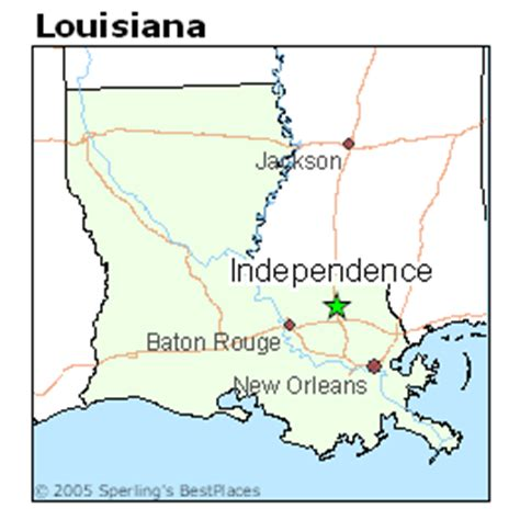 best places to live in independence, louisiana
