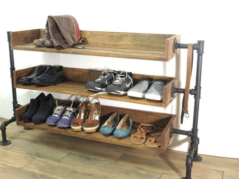 commercial shoe storage industrial pipe shoe storage shoe rack shoe organizer