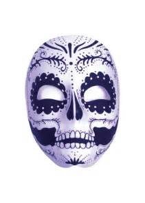Hat Decorations Day Of The Dead Full Mask Masks