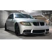 BMW E90/E91 V Style Carbon Fiber Front Lip Spoiler For M3