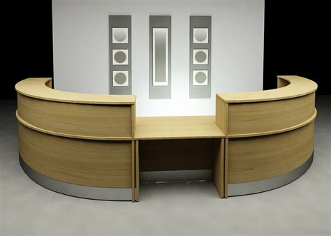 Furniture Office Workspace Acrylic Office Desk Interior Front Office Desks