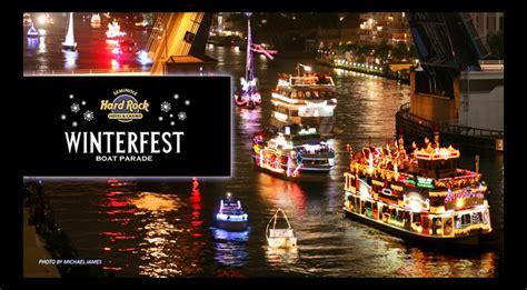 fort lauderdale winterfest boat show seminole hard rock winterfest boat parade south florida