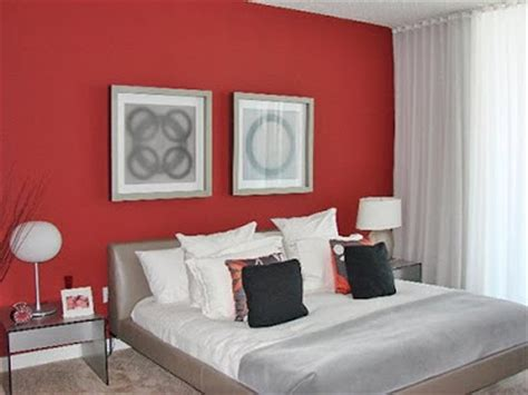 bedroom with red walls interior design photos red wall modern bedroom interior