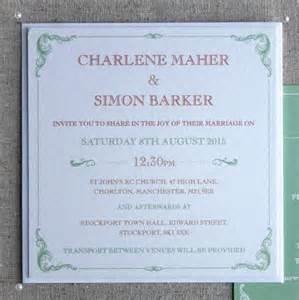 edwardian formal wedding invitation bundle by rodo creative notonthehighstreet