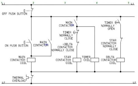using delta motor with circuit diagrams