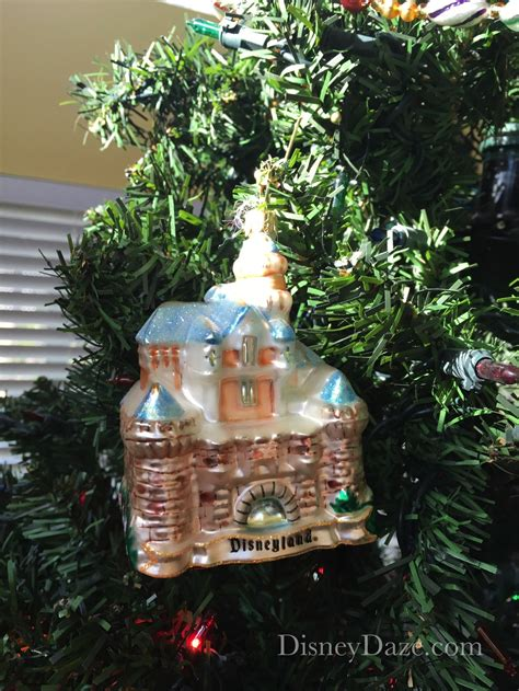 12 days of disney christmas day 8 castle ornaments