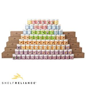 Shelf Reliance Thrive by Thrive 1 Year Supply Dehydrated Freeze Dried Food For 1