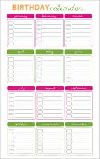 premium template free birthday calendar templates weekly calendar template