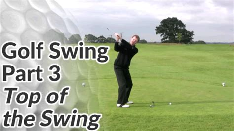 top of the golf swing top of golf swing drill 1 free online golf tips
