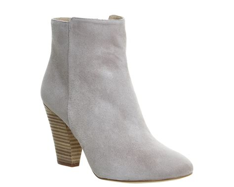 gray suede boots womens office flawless ankle boot grey suede boots ebay