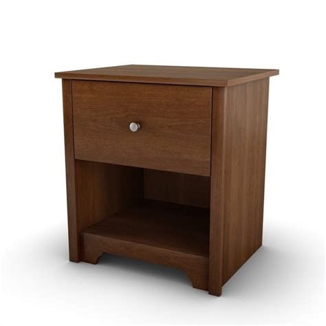 L For Nightstand South Shore Concord 1 Drawer Nightstand In Somptuous Cherry 3156062