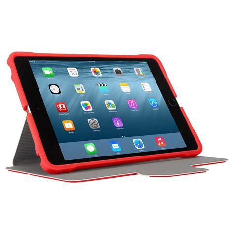 format video ipad mini 3d protection case for ipad mini 4321 red