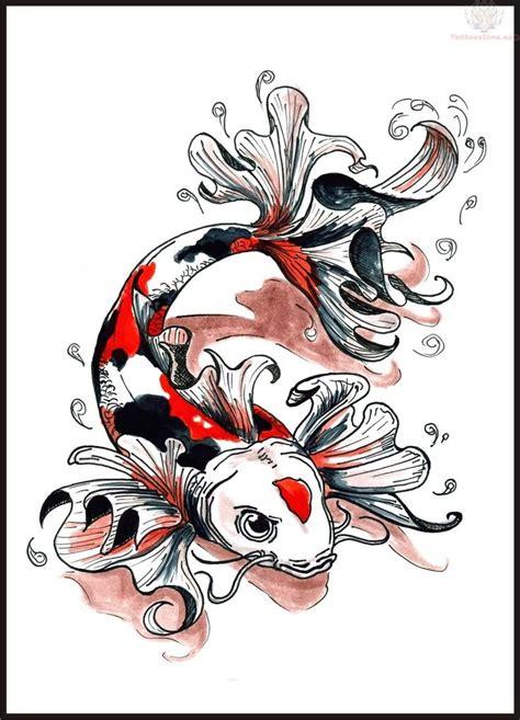 koi tattoo represent koi tattoo design meaning symbolism probably surprising