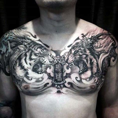 nice chest tattoos for men 75 tattoos for masculine ink design ideas