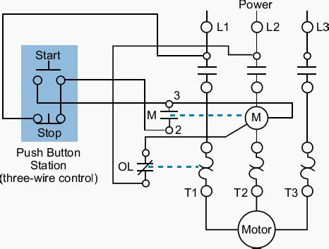 wiring panel phase synchronous motor wiring