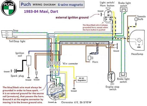 wiring diagrams 171 myrons mopeds