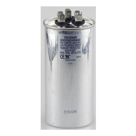 ac capacitors home depot home depot dual run capacitor 28 images packard 440 volt 40 5 mfd dual motor run capacitor