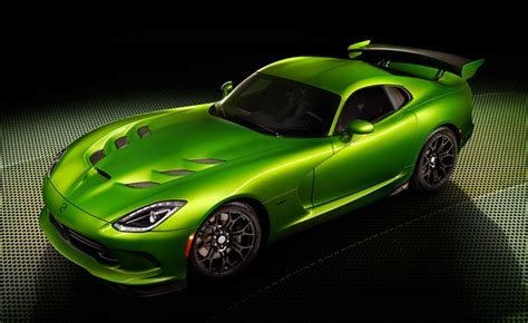 Goes Green With Jealousy by Srt Viper Goes Green With Envy Before Detroit Mercedes