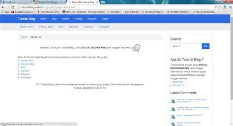 blogger jakarta tutorial blog situs social bookmarking blogger indonesia