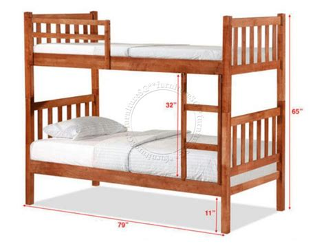deck bed double deck bunk bed dd1061wh