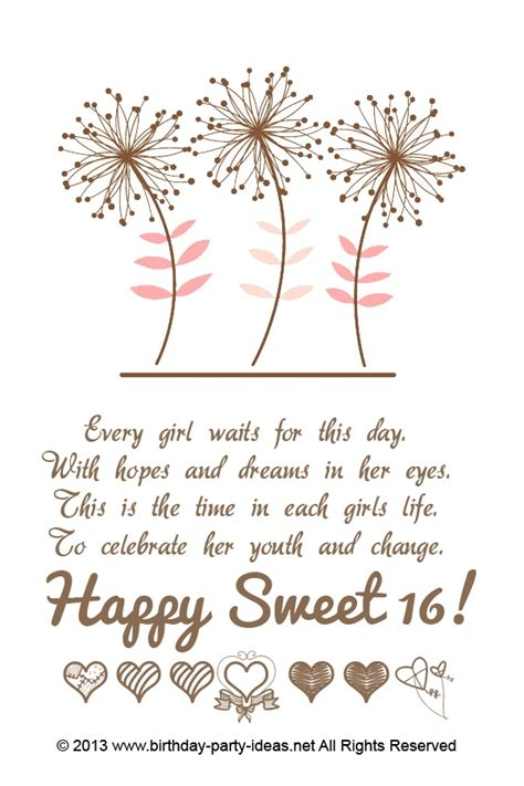 Quotes For Sixteenth Birthday 16th Birthday Quotes For Girls Quotesgram