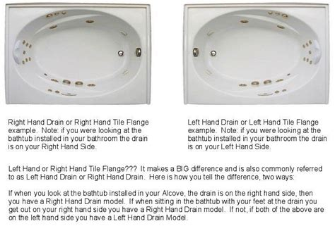 bathtub right hand drain bathtub with right hand drain 171 bathroom design