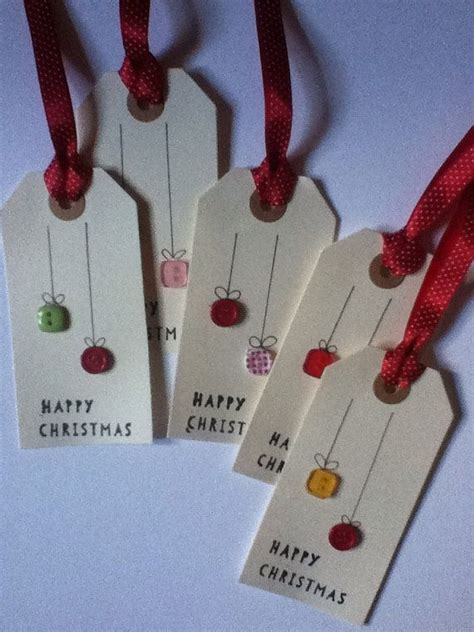 Handmade Gift Tag Ideas - handmade gift tags by joshandmadecards on etsy 2 90