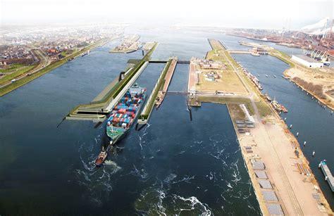 scheepvaart noordzeekanaal zeesluis noordzeekanaal gegund de ingenieur