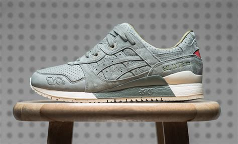 Asics Glyte Iii Perferroated asics gel lyte iii perforated pack sneakers cartel