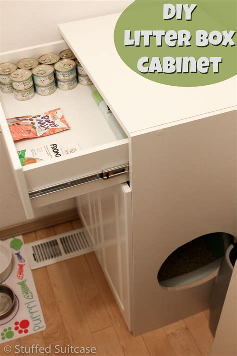 hometalk diy litter box furniture cabinet