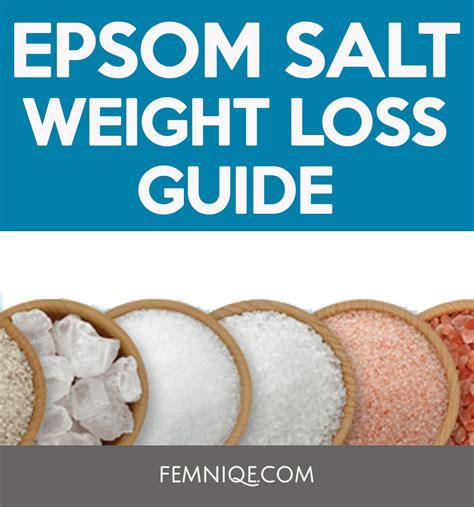 Salt Detox Bath Weight Loss by The Best Epsom Salt Weight Loss Guide Femniqe