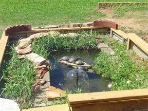 great idea for enclosing the turtle pond garden