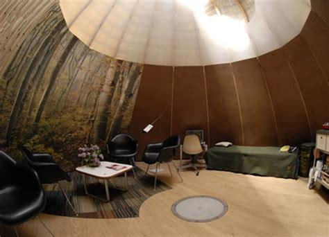 Teepee Interior by Suburban Nomad Hybrid Igloo Yurt Tent Tipi Home Idea