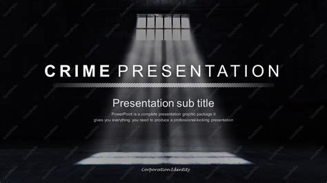 Crime Presentation Wide Goodpello Murder Powerpoint Template