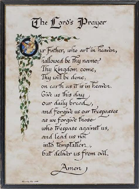 printable version of the lord s prayer other printable images gallery category page 176